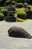 Primo piano giapponese del giardino immagine stock