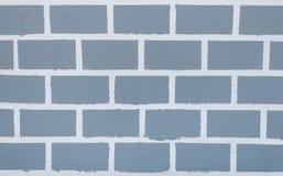 Primo piano a Gray Brick Pattern Background/a struttura Fotografia Stock
