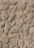 Primo piano grigio elaborato del granito fotografie stock libere da diritti