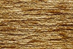 Primo piano impressionante dorato di tono Struttura gialla del tessuto immagine stock libera da diritti