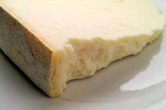 Primo piano invecchiato del formaggio Fotografia Stock