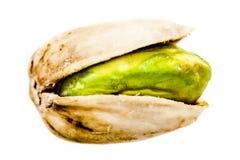 Primo piano isolato pistacchio immagini stock