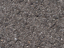 Primo piano/macro dell'asfalto Fotografia Stock Libera da Diritti