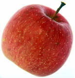Primo piano rosso del Apple Immagini Stock
