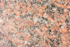 Primo piano rosso della lastra del granito immagini stock
