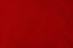 Primo piano rosso di struttura del fondo del tessuto Fotografia Stock