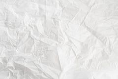 Primo piano sparato del fondo sgualcito di Libro Bianco immagini stock libere da diritti