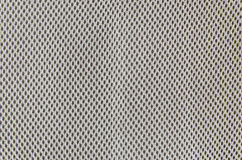 Primo piano a struttura grigia del tessuto Immagine Stock