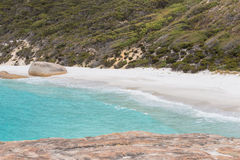 Primo piano su poca Australia occidentale di Albany della spiaggia Immagine Stock Libera da Diritti