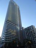 Primo piano su un grattacielo a Toronto Canada Fotografie Stock Libere da Diritti