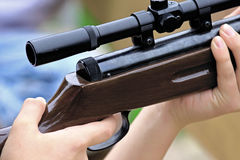 Fucile da caccia Fotografia Stock Libera da Diritti