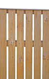 Primo piano verticale isolato di legno della rete fissa di picchetto Fotografia Stock