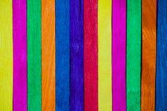 Primo piano vivo di legno di colore illustrazione di stock