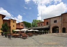 Primo Piazza, Italian architecture in Khao Yai, Thailand Stock Image