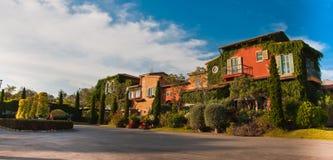 Primo posto, śródziemnomorski budynku styl Obrazy Royalty Free