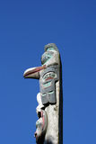 Primo totem di nazioni Fotografia Stock