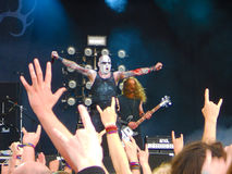 Primordial on stage Royalty Free Stock Images