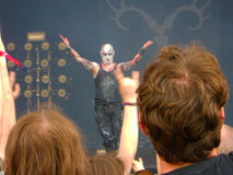 Primordial on stage Royalty Free Stock Image