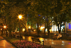 Primorsky Boulevard - seafront in Odessa. Ukraine Royalty Free Stock Photography