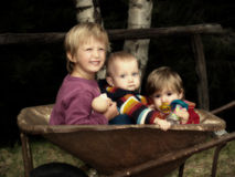 Primos Foto de archivo libre de regalías