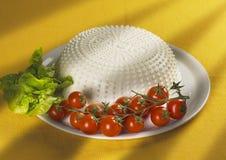 primosale итальянки сыра стоковое фото