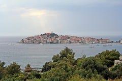 Primosten-Croacia Fotos de archivo libres de regalías