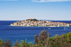 Primosten, croatia Stock Photo