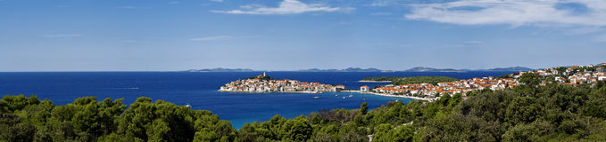 Primosten, croatia Royalty Free Stock Images