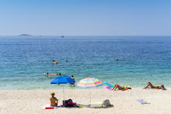 Primosten, Croatia, August 5 2017 Stock Image