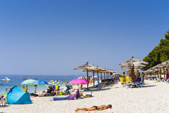 Primosten, Croatia, August 5 2017 Royalty Free Stock Photography