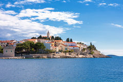 Primosten in Croatia. The beautiful Primosten in Croatia Stock Image