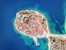 Primosten Croatian Coast. Taken in 2015 royalty free stock photography