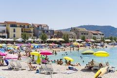 Primosten, Croatie, le 5 août 2017 Photographie stock libre de droits