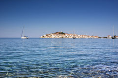 Primosten, famous touristic destination in Croatia Stock Photography