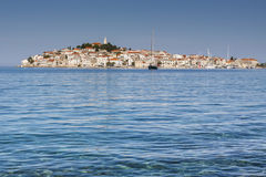 Primosten, famous touristic destination in Croatia Royalty Free Stock Photography