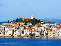 Primosten town, south Croatia Royalty Free Stock Photography