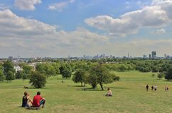 Primrose Hill, London Royalty Free Stock Photography