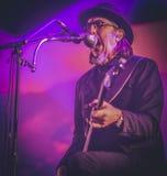 Primus, Les Claypool, leben in Konzert 2017 Lizenzfreie Stockbilder