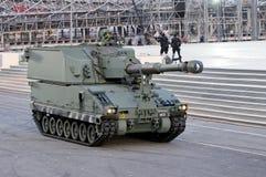 Primus tank at NDP 2009 Royalty Free Stock Photo