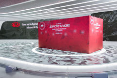 Princípio do carro de Kia Sportage Fotos de Stock