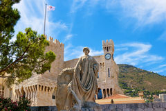 Prince�s Palace in Monaco Royalty Free Stock Images
