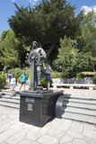 Prince Albert I statue, Monaco. Royalty Free Stock Photos
