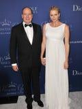 Prince Albert II of Monaco & Princess Charlene of Monaco Stock Photography