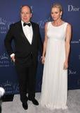 Prince Albert II of Monaco & Princess Charlene of Monaco Stock Photo