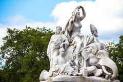 Prince Albert Memorial (Asia) in London, Great Britain Royalty Free Stock Images