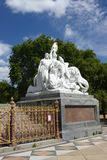 The Prince Albert memorial in Hyde park, London. Royalty Free Stock Image