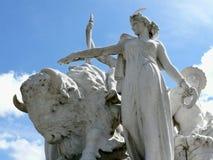 Albert Memorial, Kensington Gardens royalty free stock image
