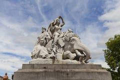 Prince Albert Memorial , Kensington Gardens, London,United Kingdom Royalty Free Stock Photo