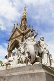 Prince Albert Memorial , Kensington Gardens,London,United Kingdom Royalty Free Stock Images