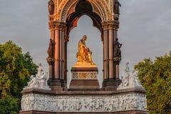 Prince Albert Memorial, Kensington, Londres photos libres de droits